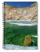 High Sierra Tarn Spiral Notebook