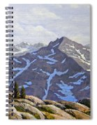 High Sierras Study Spiral Notebook