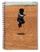 High Steppin Cowboy Spiral Notebook