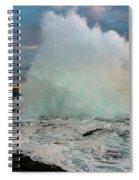 High Surf Explosion Spiral Notebook