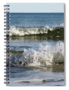 High Tide Coming Spiral Notebook