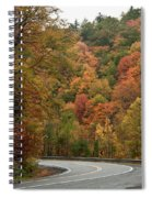 High Walls Of Fall Colors Spiral Notebook