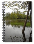 High Water Reflections Spiral Notebook