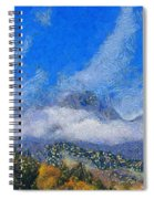 High Winds And Clouds Spiral Notebook