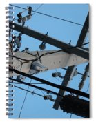 High Wire Spiral Notebook
