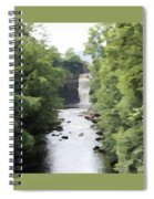 Highforce Waterfall Spiral Notebook
