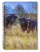 Highland Family Spiral Notebook