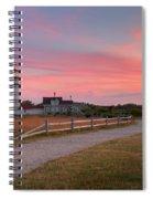 Highland Light Sunset 2015 Spiral Notebook