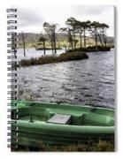 Highland Loch Spiral Notebook