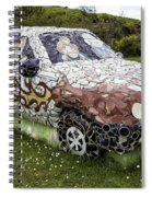 Highland Stoneware Car Spiral Notebook