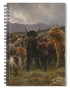 Highland Raid Spiral Notebook