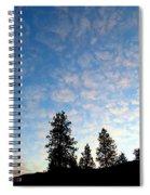 Highland Sunrise Spiral Notebook
