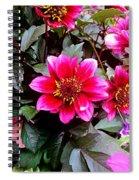 Highlands Ranch Floral Study 1 Spiral Notebook
