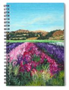 Highway 246 Flowers 3 Spiral Notebook
