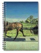 Heading Home Spiral Notebook