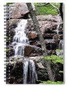 Highway E Falls 9 Spiral Notebook