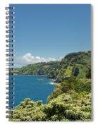 Highway To Heaven Hana Highway Maui Hawaii Spiral Notebook