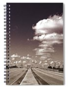 Highway To Paradise Spiral Notebook