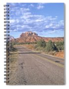 Highway To Sedona Spiral Notebook