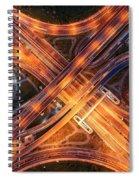 Highway Spiral Notebook