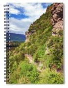 Hike Up Mt Iron Wanaka New Zealand Spiral Notebook