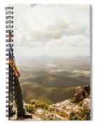 Hiking Australia Spiral Notebook