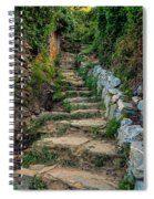 Hiking In Cinque Terre Italy Spiral Notebook