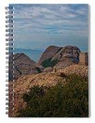 Hiking In Montserrat Spain Spiral Notebook