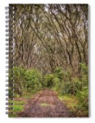 Hiking On Rangitoto New Zealand Spiral Notebook