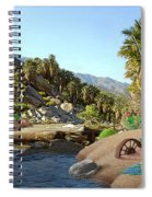 Hiking The Canyons Spiral Notebook