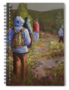 Hiking The Paintbrush Trail, Manning Provincial Park, B. C., Revisited Spiral Notebook