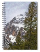 Hiking To Taggart Lake Spiral Notebook