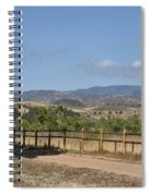 Hiking Trail To Peters Canyon Spiral Notebook
