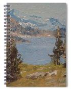 Hiking Yosemite Spiral Notebook