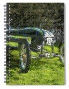 Hill Climb Car Spiral Notebook