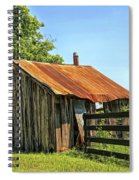 Hill Country Barn Spiral Notebook