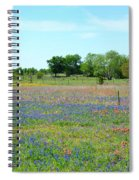 Hill Country Pastel Panorama Spiral Notebook