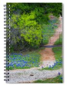 Hill Country Road Spiral Notebook