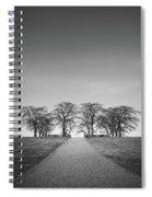 Hill Of Elm Spiral Notebook