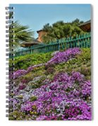 Hill Of Flowers Spiral Notebook