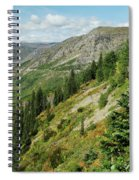 Hill Of Glory Spiral Notebook