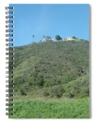 Hill With A House Spiral Notebook