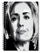 Hillary Clinton Spiral Notebook
