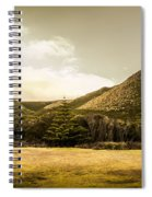 Hills And Fields Of Trial Harbour Spiral Notebook