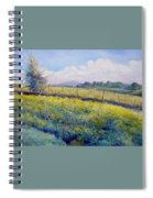 Hills Around Gavignano Italy 2005  Spiral Notebook