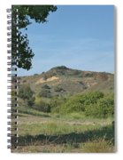 Hills In Peters Canyon Spiral Notebook
