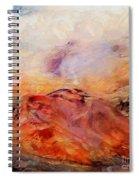 Hills In The Autumn Spiral Notebook