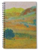 Hills Of Dakota Dream Spiral Notebook