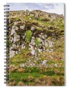 Hills Of Hadrians Wall England Spiral Notebook