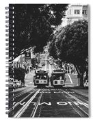 Hills Of San Francisco Spiral Notebook